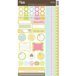 Jillibean Soup - Egg Drop Collection - Cardstock Stickers