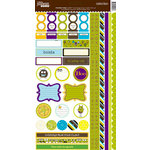 Jillibean Soup - Monster Stew Collection - Cardstock Stickers