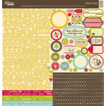 Jillibean Soup - Homemade 6 Bean Soup Collection - 12 x 12 Cardstock Stickers