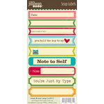 Jillibean Soup - Sweet and Sour Soup Collection - Cardstock Stickers - Soup Labels