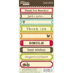 Jillibean Soup - Cardstock Stickers - Soup Labels - Card Sentiments