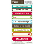 Jillibean Soup - Cardstock Stickers - Soup Labels - The Little Things