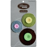 Jillibean Soup - Bean Blossoms Collection - Jute Flowers - Brown