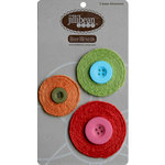Jillibean Soup - Bean Blossoms Collection - Jute Flowers - Red