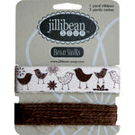 Jillibean Soup - Bean Stalks Collection - Ribbon - Birds