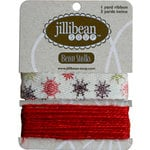 Jillibean Soup - Bean Stalks Collection - Ribbon - Snowflakes