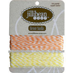 Jillibean Soup - Bean Stalks Collection - Bakers Twine - Orange and Yellow