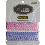 Jillibean Soup - Bean Stalks Collection - Bakers Twine - Pink and Purple