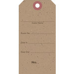Jillibean Soup - Kraft Collection - Shipping Tags - Luggage Tag, CLEARANCE