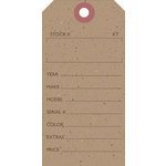 Jillibean Soup - Kraft Collection - Shipping Tags - Stock Tag