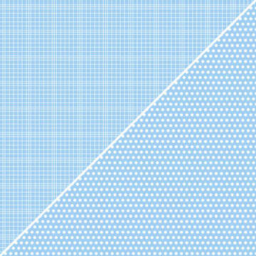 Jillibean Soup - Soup Staples Collection - 12 x 12 Double Sided Paper - Light Blue Sugar