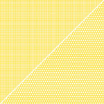 Jillibean Soup - Soup Staples Collection - 12 x 12 Double Sided Paper - Yellow Sugar, BRAND NEW