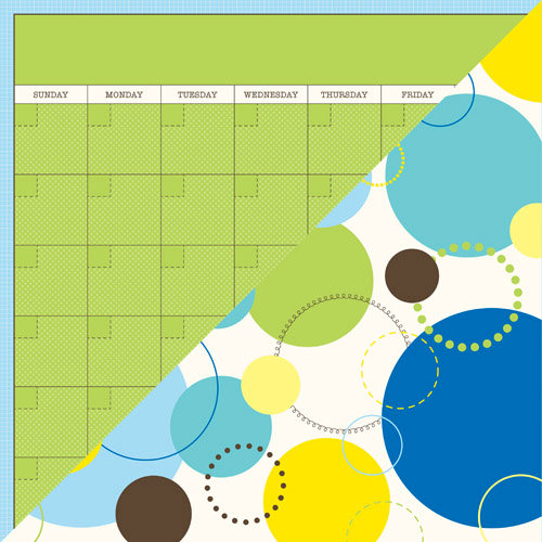 Jillibean Soup - Spotted Owl Soup Collection - 12 x 12 Double Sided Paper - 1 Happy Day