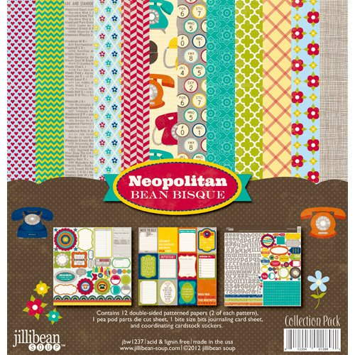 Jillibean Soup - Neopolitan Bean Bisque Collection - 12 x 12 Collection Kit