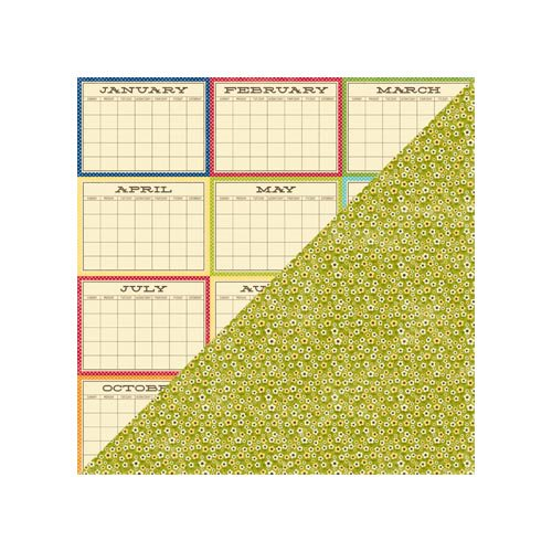 Jillibean Soup - County Pumpkin Chowder Collection - 12 x 12 Double Sided Paper - Vegetable Stock