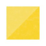 Jillibean Soup - Soup Staples II Collection - 12 x 12 Double Sided Paper - Yellow Salt