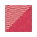 Jillibean Soup - Soup Staples II Collection - 12 x 12 Double Sided Paper - Red Salt