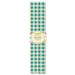 Jillibean Soup - Party Playground Collection - Paper Straws - Sweet Tart Teal Plaid