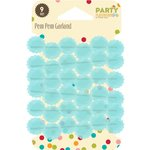 Jillibean Soup - Party Playground Collection - Pom Pom Garland - Rock Candy Blue