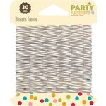 Jillibean Soup - Party Playground Collection - Bakers Twine - Licorice Grey
