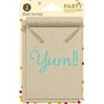 Jillibean Soup - Party Playground Collection - Muslin Treat Bags - Yum