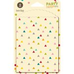 Jillibean Soup - Party Playground Collection - Favor Bags - Multi Triangle