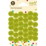 Jillibean Soup - Party Playground Collection - Pom Pom Garland - Gum Drop Green