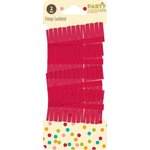 Jillibean Soup - Party Playground Collection - Fringe Garland - Red Hot Red