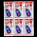 Kokuyo - Dot n Roller Adhesive - Permanent - Refill 6 Pack Bargain Pack