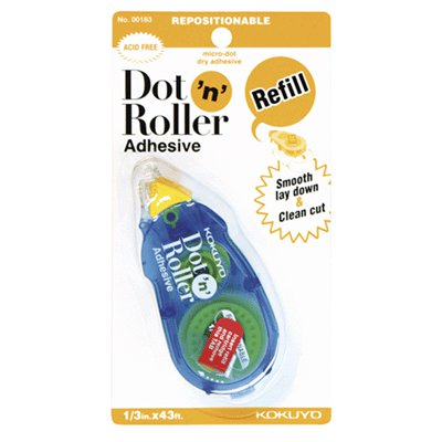 Kokuyo - Dot n Roller Adhesive - Repositionable - Refill