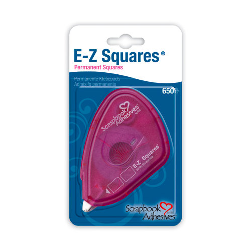 3L Scrapbook Adhesives - E-Z Squares - Permanent Adhesive Tabs