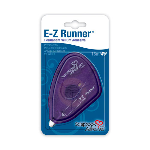 3L Scrapbook Adhesives - E-Z Runner Vellum Tape 49'