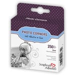 3L Scrapbook Adhesives - Photo Corners - Clear (250 per box)