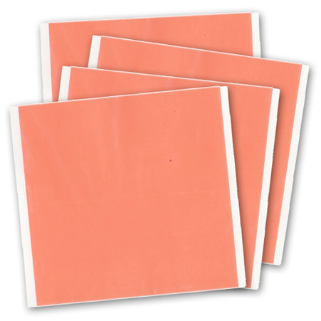 J and V Enterprises - Premium Red Line Adhesive Craft Sheet - 5 x 5 sheet - 4 Pack
