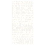 Kaisercraft - Alphabet Stickers - Ivory