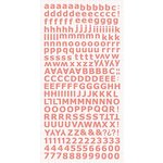Kaisercraft - Alphabet Stickers - Coral