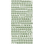 Kaisercraft - Alphabet Stickers - Green