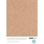 Kaisercraft - A4 Cardstock Pack - Kraft - 20 pack