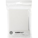 Kaisercraft - Card and Envelopes - C6 - White