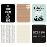 Kaisercraft - Captured Moments Collection - 3 x 4 Cards - Celebrate Life