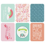 Kaisercraft - Captured Moments Collection - 3 x 4 Double Sided Journal Cards - Hello Baby