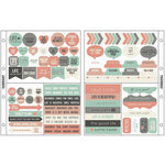Kaisercraft - Captured Moments Collection - Pocket Stickers - Harmony