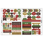 Kaisercraft - Captured Moments Collection - Pocket Stickers - Christmas Wish