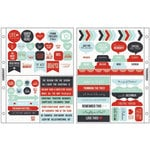 Kaisercraft - Captured Moments Collection - Pocket Stickers - Christmas Cheer