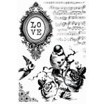Kaisercraft - Porcelain Rose Collection - Clear Acrylic Stamp