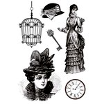 Kaisercraft - Miss Empire Collection - Clear Acrylic Stamp