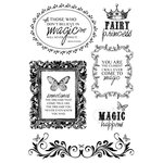 Kaisercraft - Enchanted Garden Collection - Clear Acrylic Stamp