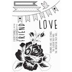 Kaisercraft - Sweet Pea Collection - Clear Acrylic Stamp