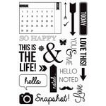 Kaisercraft - Captured Moments Collection - Clear Acrylic Stamps - Calendar