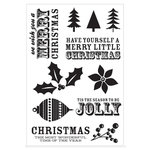 Kaisercraft - Mistletoe Collection - Christmas - Clear Acrylic Stamp